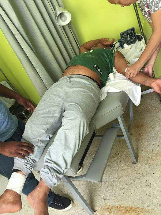 Hospitalizan peregrino de Laguna Salada pide ambulancia y camión de bomberos